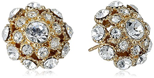 "kate spade new york ""Putting On The Ritz""  Gold-Tone Stud Earrings 51PEELDVWJL"