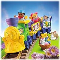 Tren de Pascua de gente pequeña
