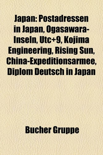 Japan: Postadressen in Japan, ...