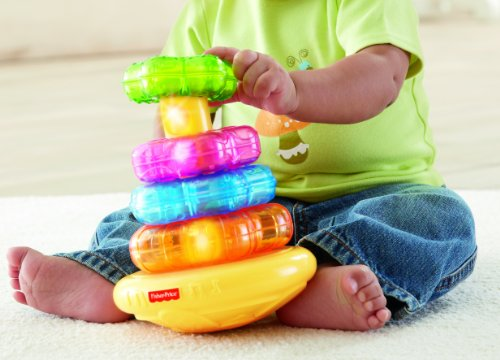 Fisher-Price Light-Up Lion Stacker - Playset-toys