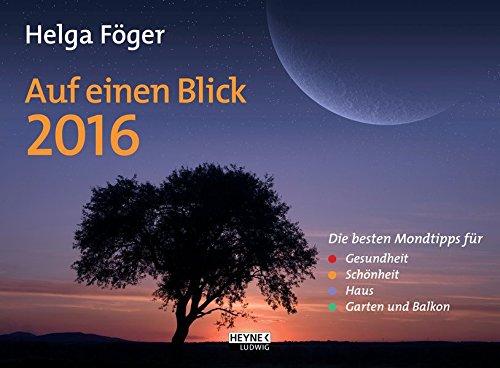Auf einen Blick 2016: Wandkalender