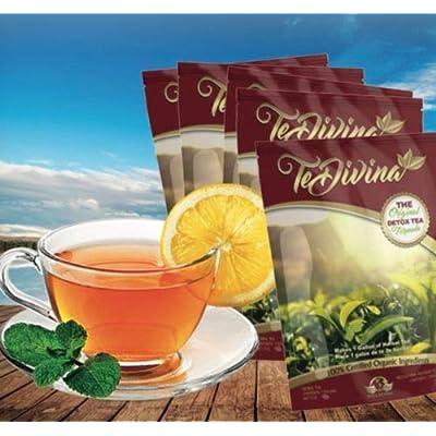Fórmula de té Detox original de 4 semanas. Excelente asistencia durante el programa de pérdida de peso y desintoxicación