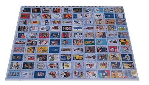 1995 Dart Pepsi-Cola Trading Cards Trading Card Uncut Sheet (100 Cards) ()
