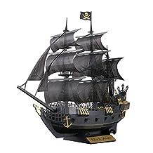 Paper Nano PN124 Black Pirate Ship Building Kit