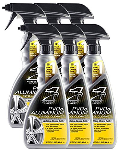 Eagle One 824334-CASE PVD and Aluminum Wheel Cleaner, 23 fl. oz, 6 Pack