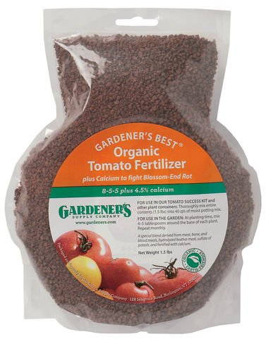 Gardeners Best174 Organic Tomato Fertilizer