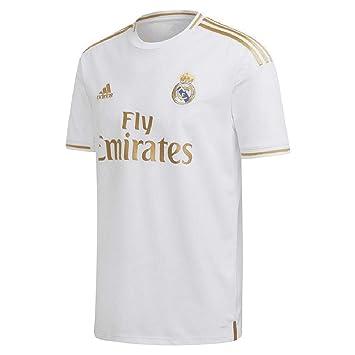 adidas Herren Real Madrid Fußballtrikot mit kurzen: Amazon