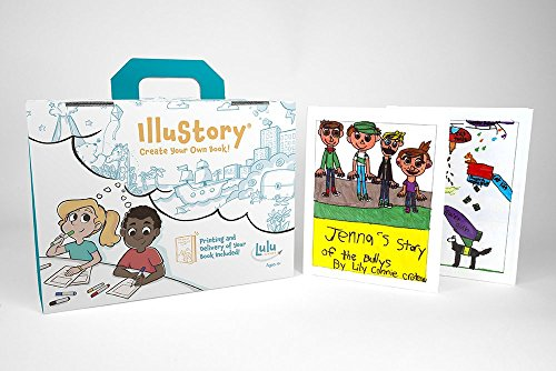 Lulu Jr. Illustory Book Making Kit, Multicolor