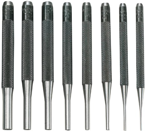 General Tools SPC75 Drive Pin Punches, Set of 8