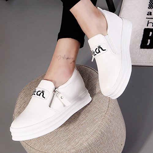 New Size5 Womens Elegant White 8715 Flat Dress UK Walking Leisure Fashion Shoes Salabobo QYYQ OqtEwq6
