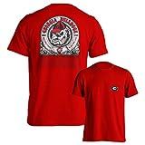University of Georgia Bulldogs UGA Hail To Georgia Red T-Shirt (S)