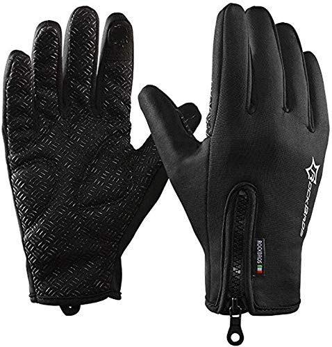 RockBros Cycling Touch Screen Gloves Winter Mountain Road Bicycle Motorcycle Fleece Gloves