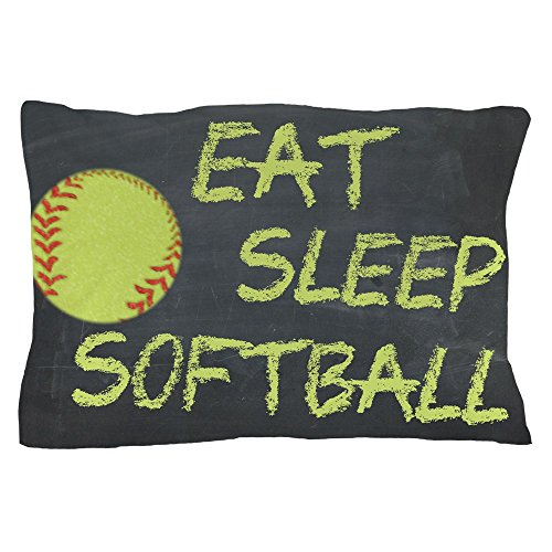 CafePress Softball Standard Pillow Unique