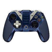 GameSir M2 Apple MFi Bluetooth Gamepad iOS Wireless Gaming Controller for Apple TV, iPhone, iPad, iPod touch, iPad Air, iPad Mini, Mac - Blue