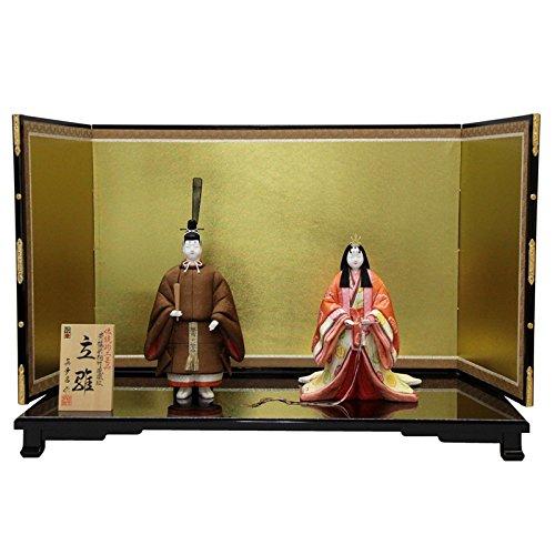 雛人形 平飾り木目込み立雛 東宮立雛1147 幅81cm 3mk14 真多呂 伝統的工芸品   B075GNWGZF