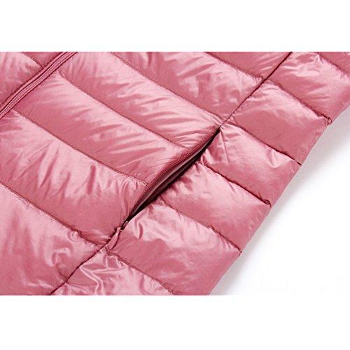 Keep Vest Waistcoat Collar Stand Jackets Zipper shane Coat 06 amp;shaina Down Warm Short Women feathercoat xTTHq7