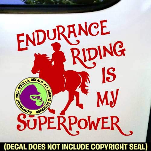 DRESSAGE IS MY SUPERPOWER Vinyl Decal Sticker A