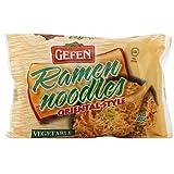 Gefen Ramen Noodle Vegetable Flavored, 3-Ounce (Pack of 24)