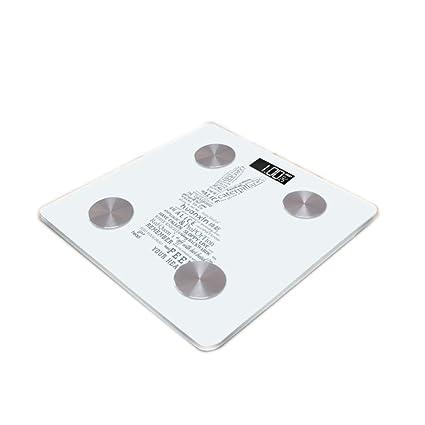 JTHKX Escamas de Grasa Corporal Balanzas domésticas electrónicas Básculas de Pesas precisas Básculas de Grasa Corporal