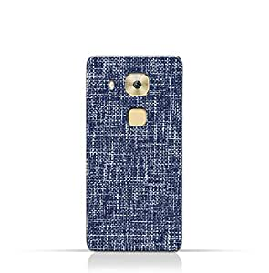AMC Design Huawei G9 Plus TPU Silicone Case with Brushed Chambray Pattern