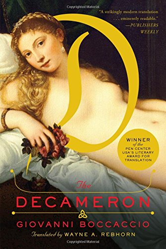 Book cover for The Decameron