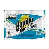 Bounty Duratowel, 6 Mega Rolls Equal To 10 Regular Rolls, 6 Count