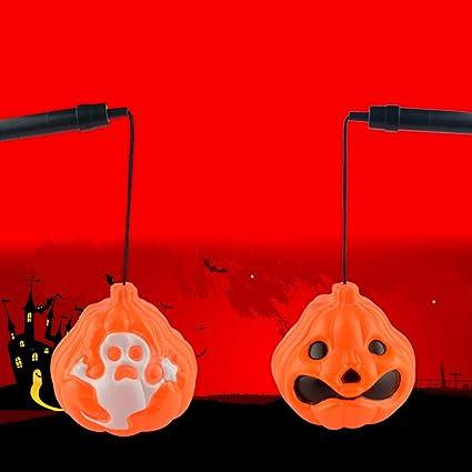Amazoncom Halloween Pumpkin Rustic Lantern With Handle O