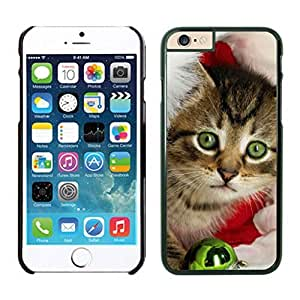 Niche market Phone Case Green Eyes With Christmas Jingling Bell Iphone 6 Cover Case For Iphone 6 4.7 Inch