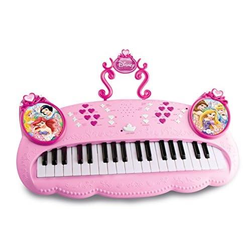 IMC Toys 210660 - Instrument de Musique - Clavier Electronique - Disney Princess - Rose