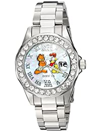 Invicta Women's 'Character Collection' Quartz Stainless Steel Casual Watch, Color:Silver-Toned (Model: 24885)