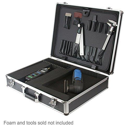 SRA Cases EN-AC-FY-A032 Aluminum Hard Tool Case, 20.8 x 15.8 x 5.1 Inches Divider
