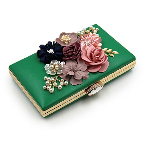 Flada - Cartera de mano para mujer Verde verde Medium verde