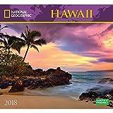 National Geographic Hawaii 2018 Wall Calendar