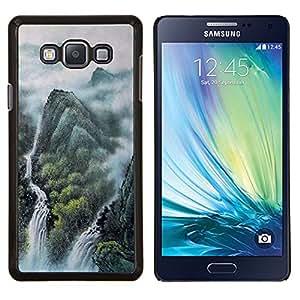 TECHCASE---Cubierta de la caja de protección para la piel dura ** Samsung Galaxy A7 ( A7000 ) ** --Diseño japonés mítico Forrest