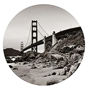 alfombrilla de ratón Puente Golden Gate - ronda - 20cm
