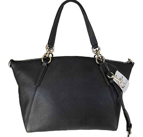 Leather Body Coach Small Cross Bag Midnight Kelsey dnqIqa4