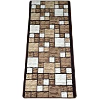 Hop Scotch Beige Carpet Rug Hallway Runner 5