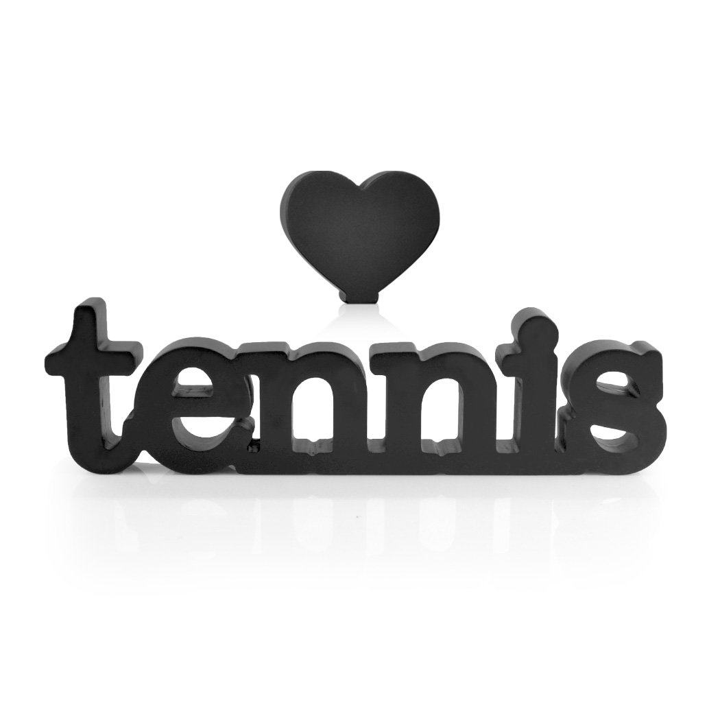Love Tennis Wood Word | Wood Words by ChalkTalk SPORTS | Room, Shelf and Desk Décor