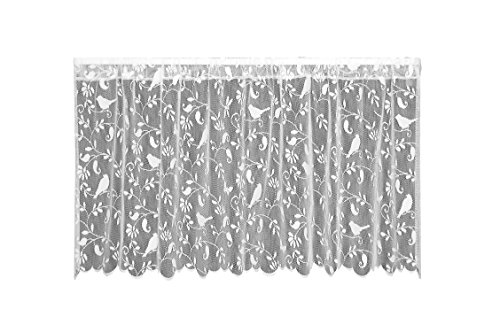 Heritage Lace Bristol Garden Tier, 60 by 30-Inch, (Garden Kitchen Curtain)