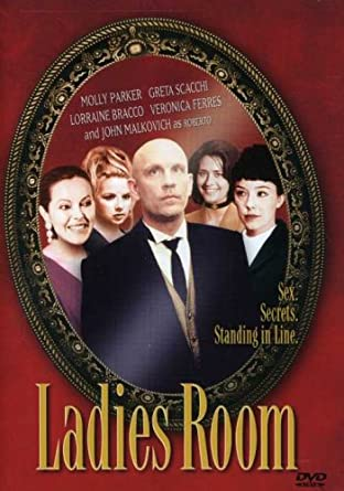 Ladies room scene