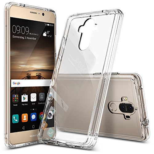 Ringke Fusion TPU Bumper Cover Case for Huawei Mate 9 (Clear) - 2