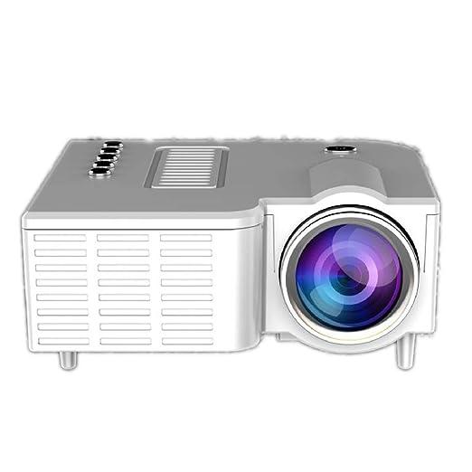 XHY Mini proyector portátil para el hogar, proyector de Calidad HD ...