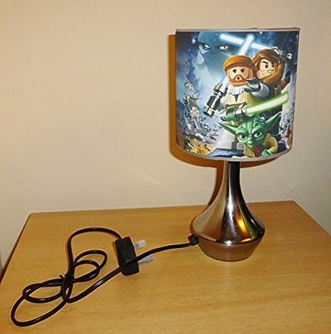 STARWARS / STAR WARS   BEDSIDE LAMP   BOYS BEDROOM LIGHT / LAMP SHADE (TOUCH