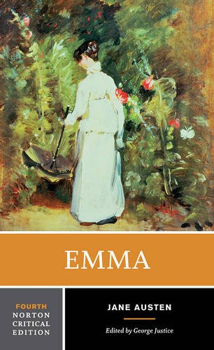 Emma (Fourth Edition)  (Norton Critical Editions), by Jane Austen