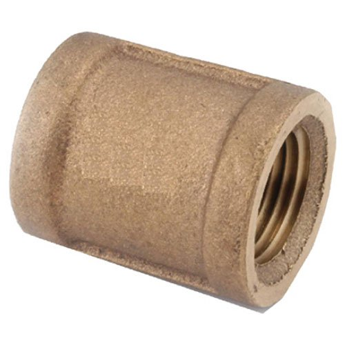 - Anderson Metals 738103-16 1-Inch Low Lead Pipe Coupling, Brass