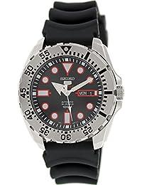 Seiko Men's 5 Automatic SRP601K Black Rubber Automatic Watch