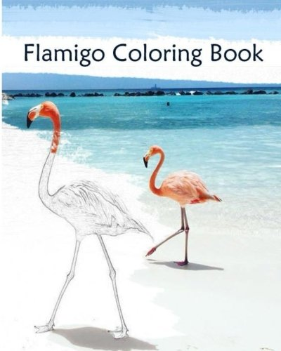 Read Online Flamingo coloring Book: A Coloring Book Containing 30 Flamigo Designs in a Variety of Styles to Help you Relax PDF