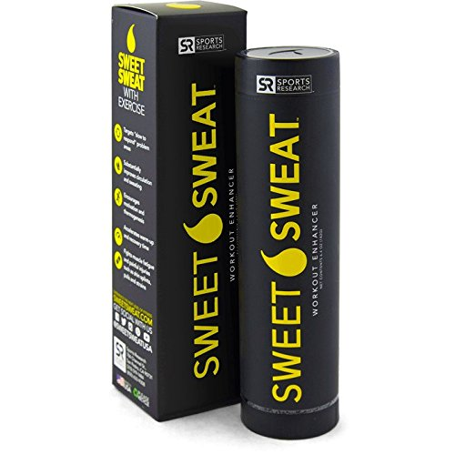 Fat Burning Gel - Sports Research Sweet Sweat Skin Cream, 6.4-Ounce