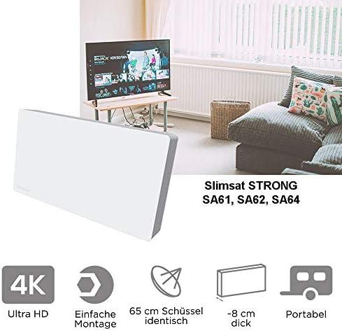 Strong SlimSat SA62 - Antena de TV, blanco (importado)