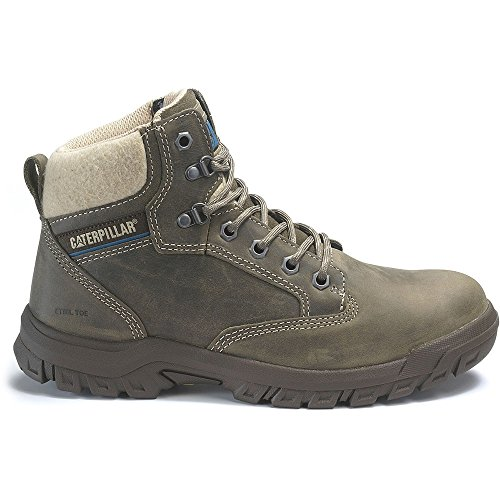(Caterpillar Tess Steel Toe Work Boot Women 8 Dark Gull Grey)